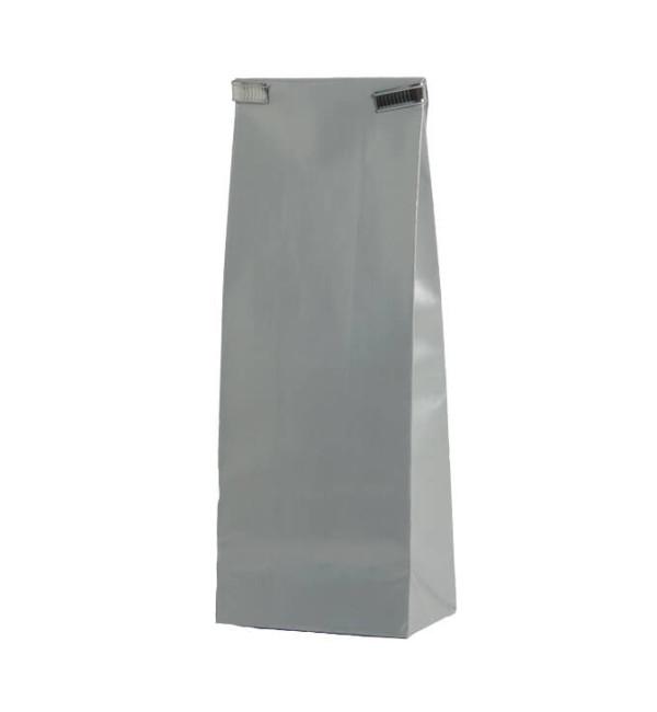 zilvere sluitstrip voor papieren zakje