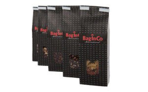 Paper bags with logo or brand
