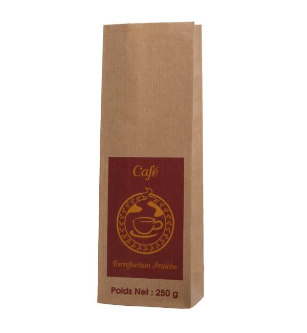 Koffiezakjes passe partout papieren zakjes baginco for Papieren vensterzakjes