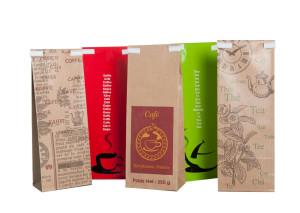pre-printed paper bags