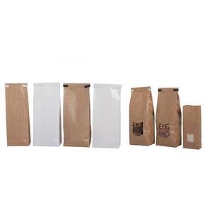 bolsas de papel antigrasa con fondo cuadrado