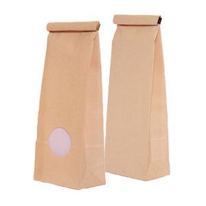 des sacs à fond plat en papier écologique