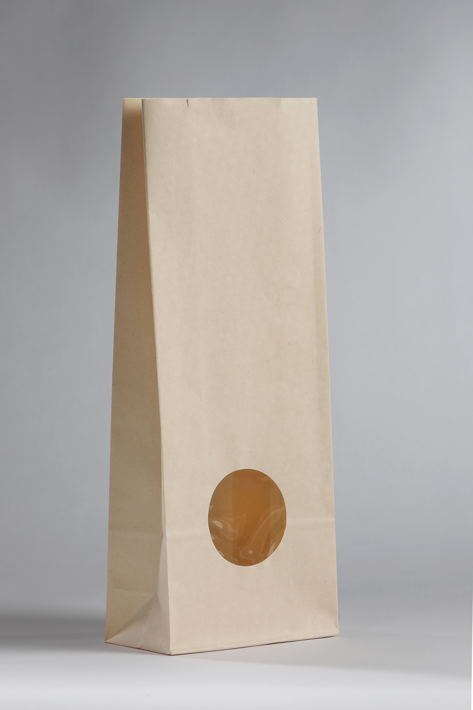 ecologische verpakking voeding met venster