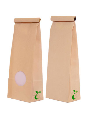 Tüten aus ökologischem Papier