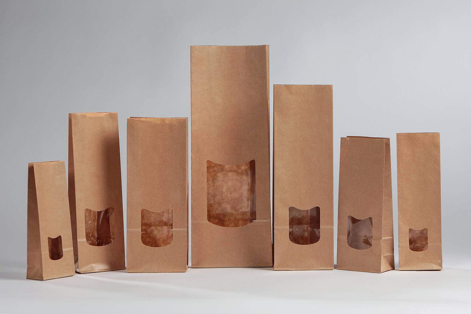 Bolsas con ventana